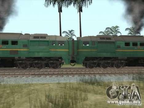 Carga Estados bálticos locomotora ferroviaria fo para GTA San Andreas left