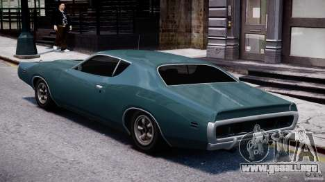 Dodge Charger RT 1971 v1.0 para GTA 4 vista lateral