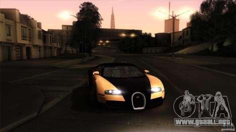 Bugatti Veyron 16.4 para vista inferior GTA San Andreas