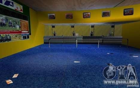 Nueva oficina de Bukmejkerskaâ para GTA San Andreas sucesivamente de pantalla