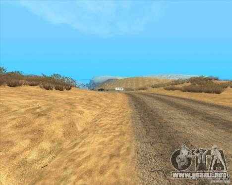Desert HQ para GTA San Andreas segunda pantalla