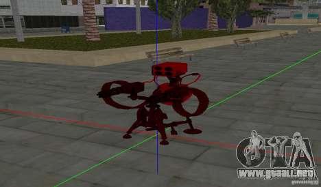 Torreta de Team Fortess 2 para GTA San Andreas tercera pantalla