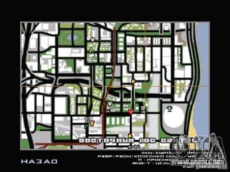 Servicio de coche cerca de Grove para GTA San Andreas sexta pantalla