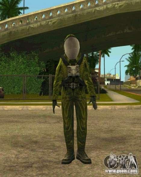 Pieles de S.T.A.L.K.E.R. para GTA San Andreas