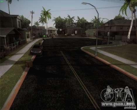 Nuevos caminos alrededor de San Andreas para GTA San Andreas tercera pantalla