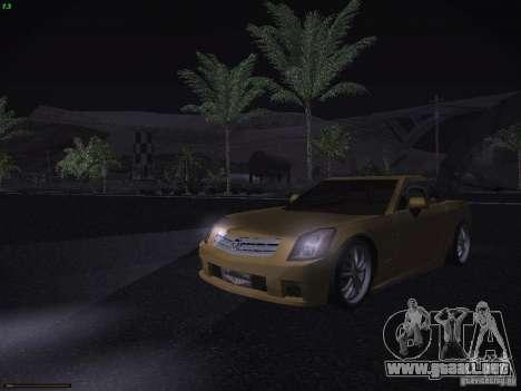 Cadillac XLR 2006 para la vista superior GTA San Andreas