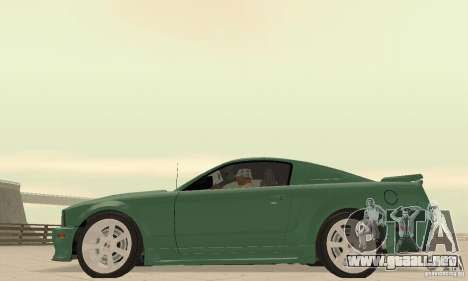Saleen S281 v2 para la visión correcta GTA San Andreas