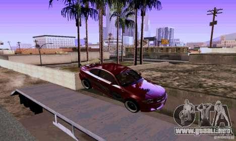 BMW 135i para GTA San Andreas vista hacia atrás