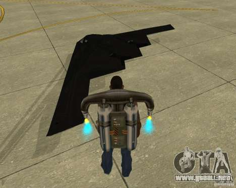 B-2 Spirit Stealth para GTA San Andreas left