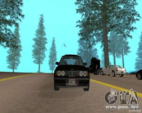 BMW 535i e34 para GTA San Andreas left