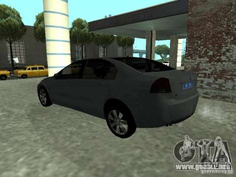 Holden Calais para GTA San Andreas left