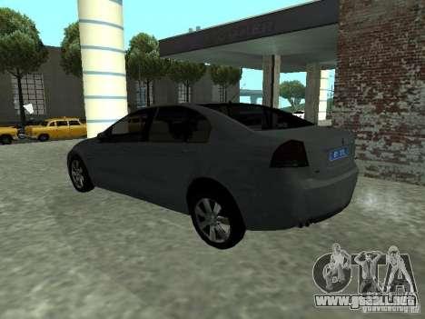 Holden Calais para GTA San Andreas left