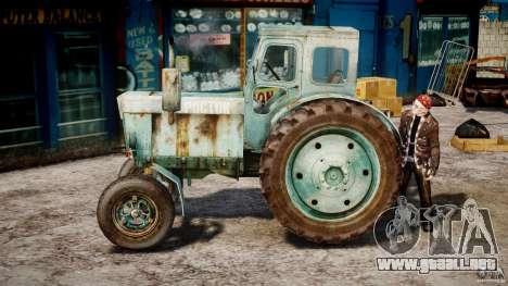 Tractor T-40 m para GTA 4 left