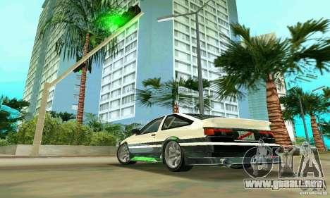 Toyota Trueno AE86 4type para GTA Vice City left