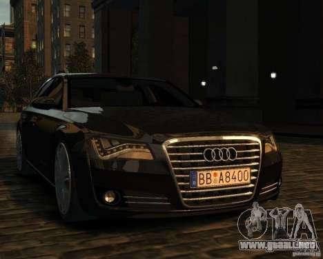 Audi A8 2010 para GTA 4