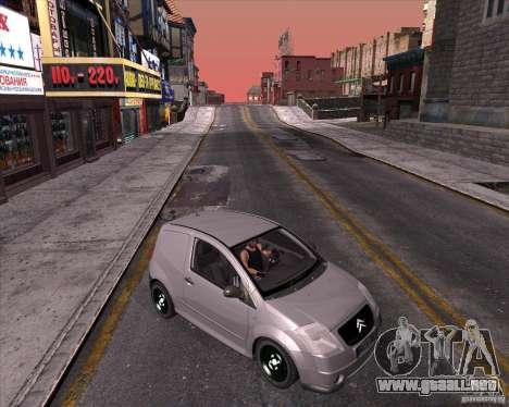 Citroen C2 workers car para GTA San Andreas