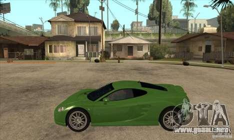 Ascari KZ1 para GTA San Andreas left