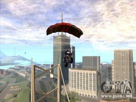 Paracaídas para bajka para GTA San Andreas