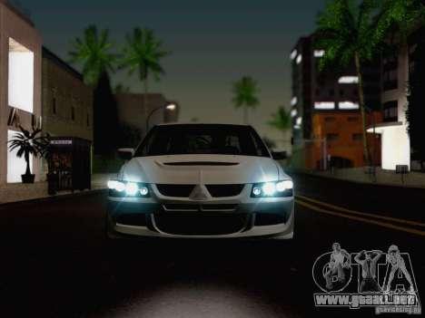 New Car Lights Effect para GTA San Andreas quinta pantalla