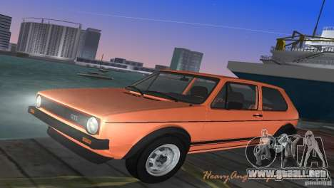 Volkswagen Golf Mk1 GTI para GTA Vice City