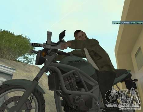 PCJ-600 en GTA IV para GTA San Andreas left