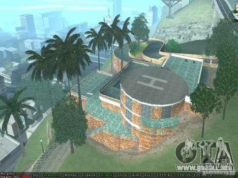 Nueva Villa Med-Dogg para GTA San Andreas sucesivamente de pantalla