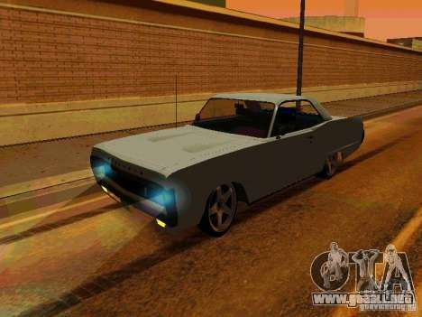 Plymouth Fury Sport 1970 para GTA San Andreas left
