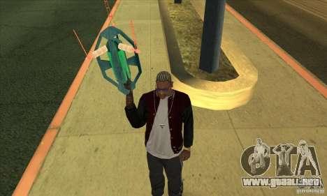 GraviPuška para GTA San Andreas