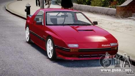 Mazda RX7 FC3S v2 FINAL para GTA 4 visión correcta