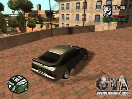 Ford Sierra Drift para vista lateral GTA San Andreas