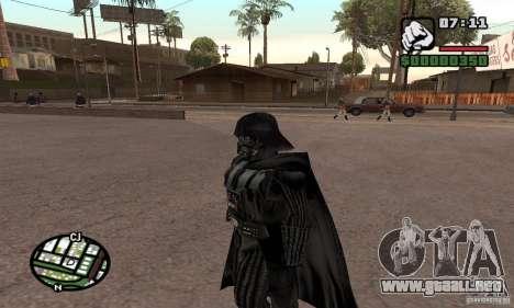Darth Vader para GTA San Andreas tercera pantalla