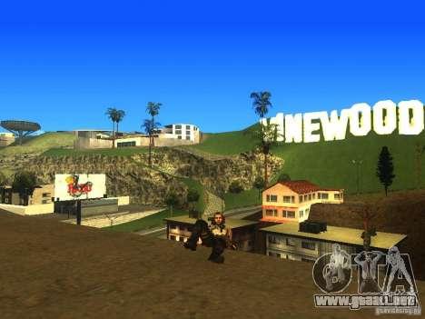 Animation Mod para GTA San Andreas novena de pantalla