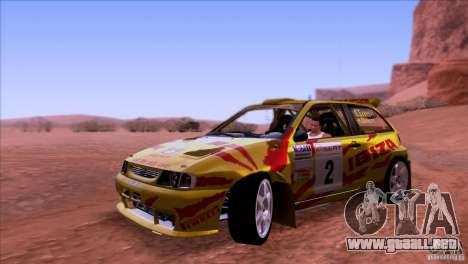Seat Ibiza Rally para GTA San Andreas left