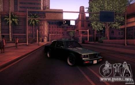 Buick Regal GNX para la vista superior GTA San Andreas