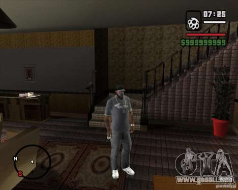 Sustitución de la CJeâ casa entera para GTA San Andreas segunda pantalla