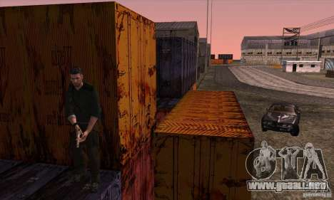 Sam Fisher para GTA San Andreas séptima pantalla