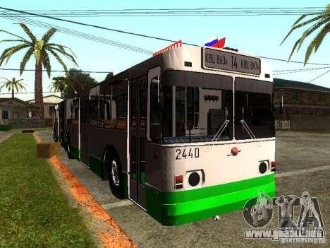 ZiU 683 para GTA San Andreas left