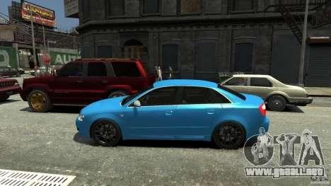 Audi S4 2000 para GTA 4 left