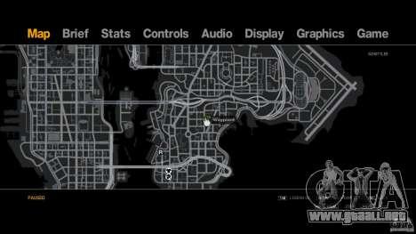 The real Poster Mod para GTA 4 adelante de pantalla