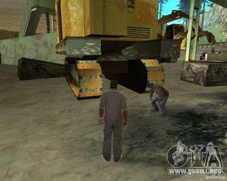 Barney sin hogar para GTA San Andreas sexta pantalla