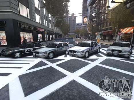 Ford Crown Victoria NYPD Auxiliary para GTA 4 vista interior