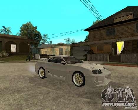 Toyota Supra M4K para la visión correcta GTA San Andreas