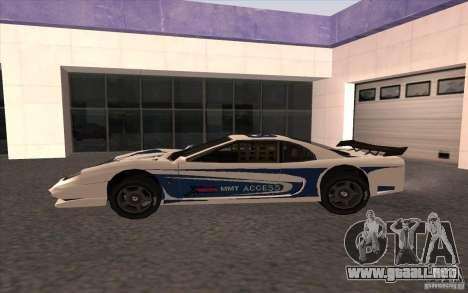 El nuevo Turismo para GTA San Andreas left
