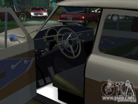 GAS M21T Taxi para la vista superior GTA San Andreas