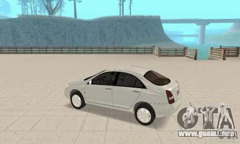 Nissan Primera para GTA San Andreas vista hacia atrás