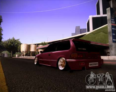 Honda Civic EF9 Hatch Stock para GTA San Andreas left