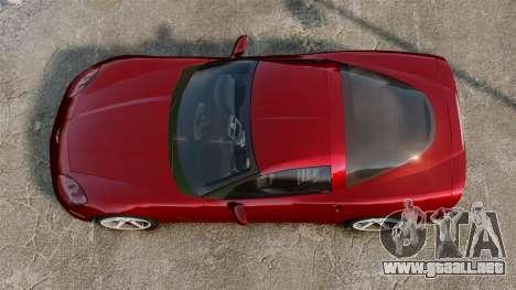 Chevrolet Corvette Z51 para GTA 4 visión correcta