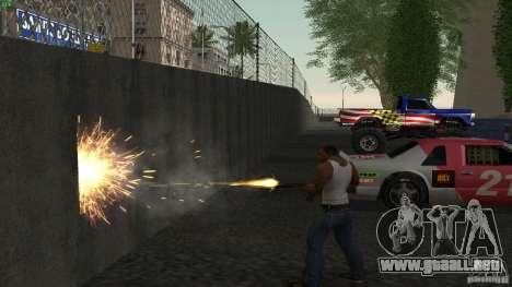 Overdose Effects v1.5 para GTA San Andreas segunda pantalla