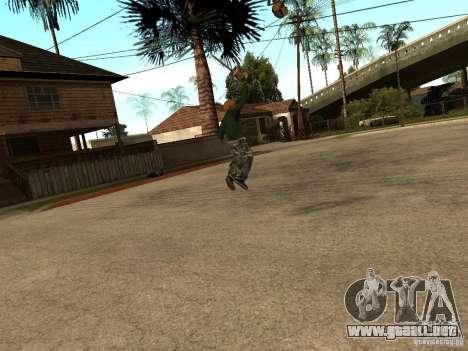 Lanzar cuchillas para GTA San Andreas tercera pantalla
