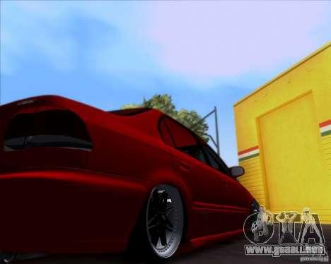 Honda Civic 16 LK 664 para visión interna GTA San Andreas